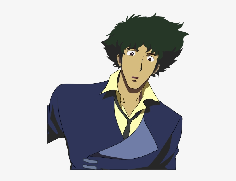 Download Spike Spiegel Silhouette Png PNG