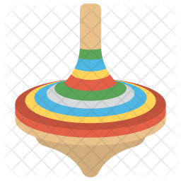 Spinning Top Icon Of Flat Style Availa Png Images Pngio