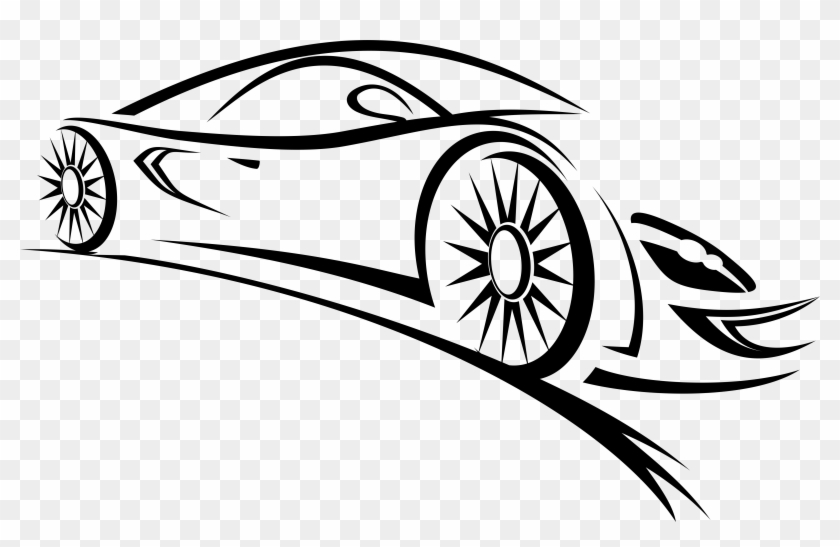 Car Outlines Png - Sports Outline Car Png Clipart - Car Logo Vector Png - Free ...