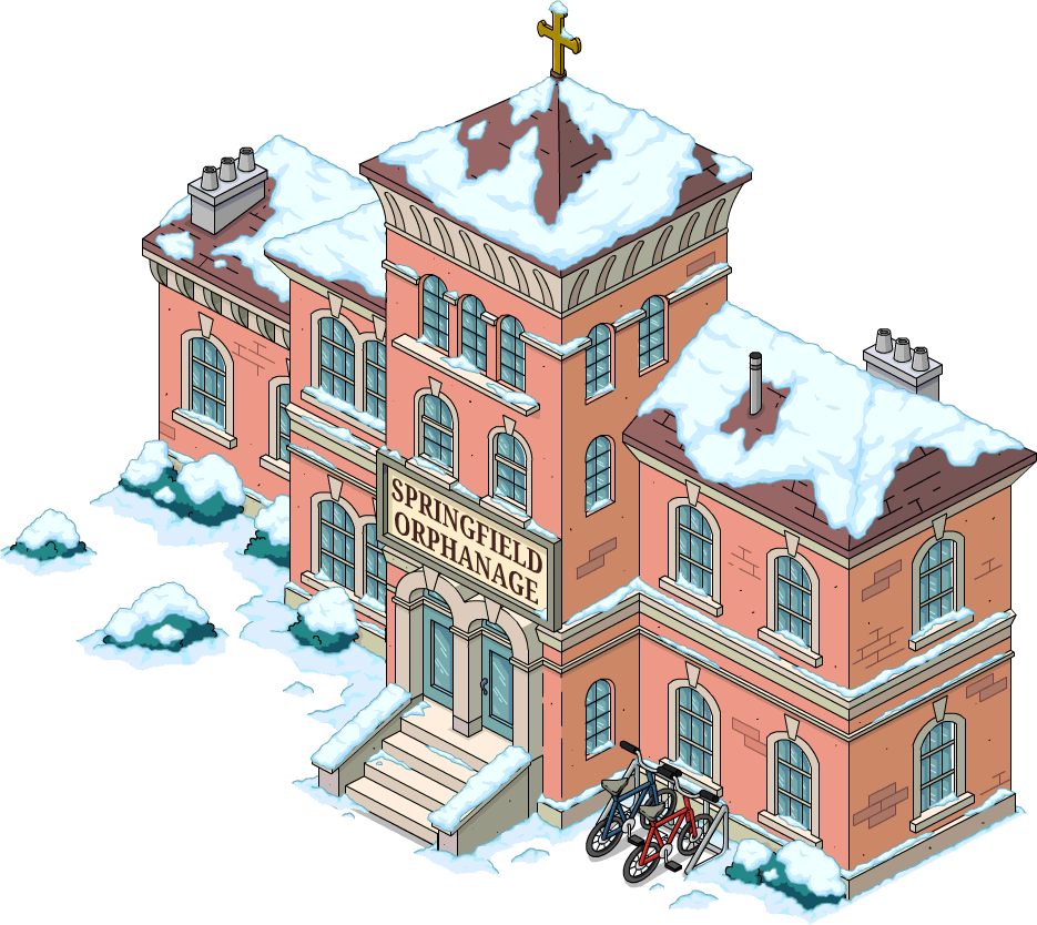 Orphanage Png - Springfield Orphanage | The Simpsons: Tapped Out Wiki | Fandom