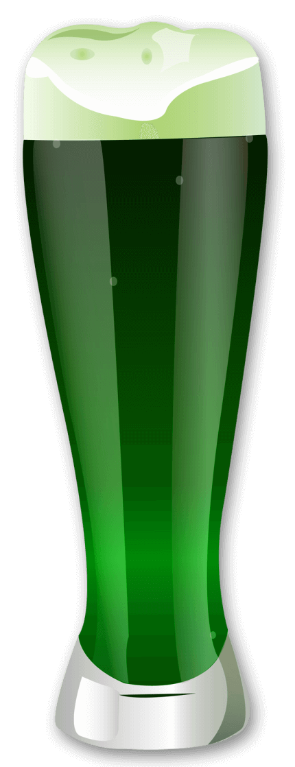 Green Beer Png - St Patrick Green Beer PNG Picture