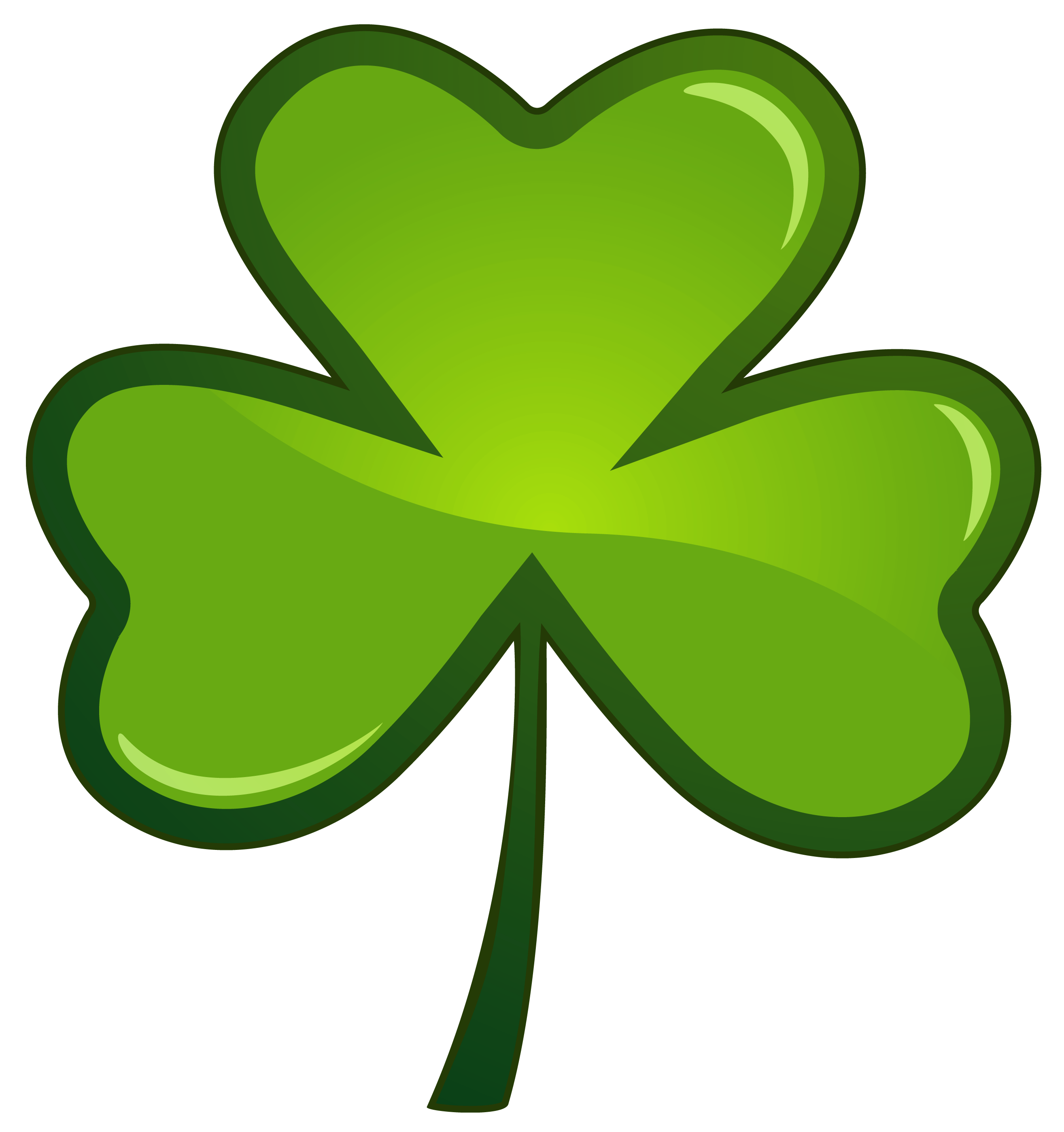 Free Shamrock Png No Background - St Patricks Day Shamrock PNG Clipart Picture | Gallery ...