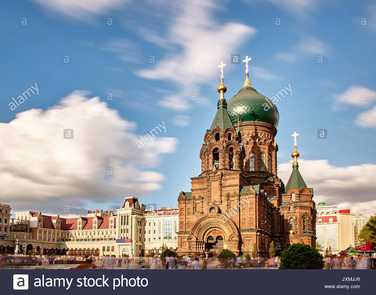 Saint Sophia Cathedral Harbin Png - St Sophia Cathedral, Harbin, Heilongjiang, China Stock Photo - Alamy