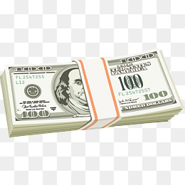 Stack Of Dollar PNG Images | Vectors And #108089 - PNG
