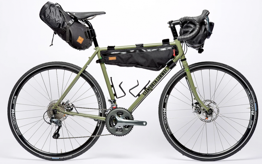 Touring Bicycle Png - Stanforth team up with Sean Conway for signature touring bike ...