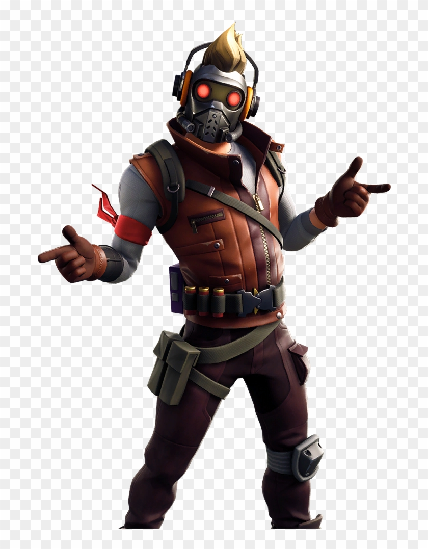 Star Lord Outfit Wallpaper Fortnite H 754434 Png