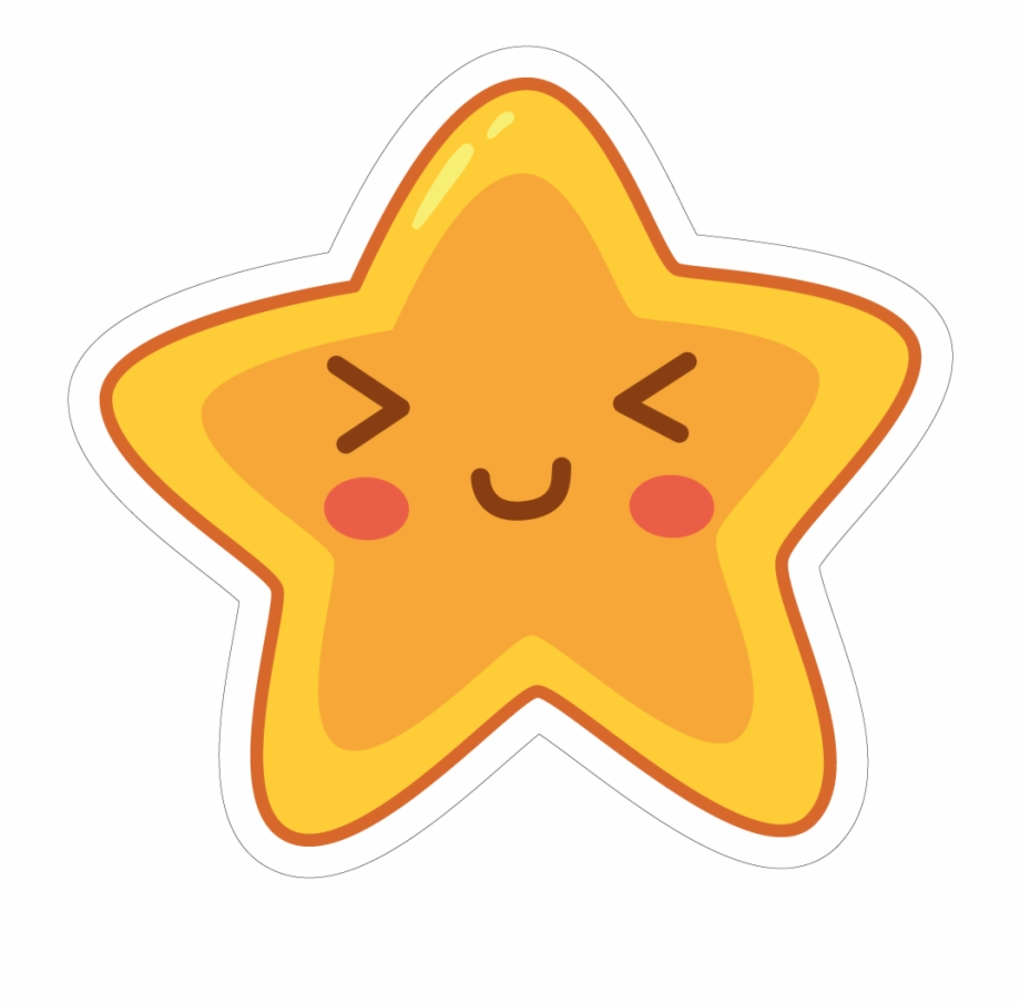 Cute Stars Png - Star Vinyl Custom - Cute Exo Stickers Png Free PNG Images ...