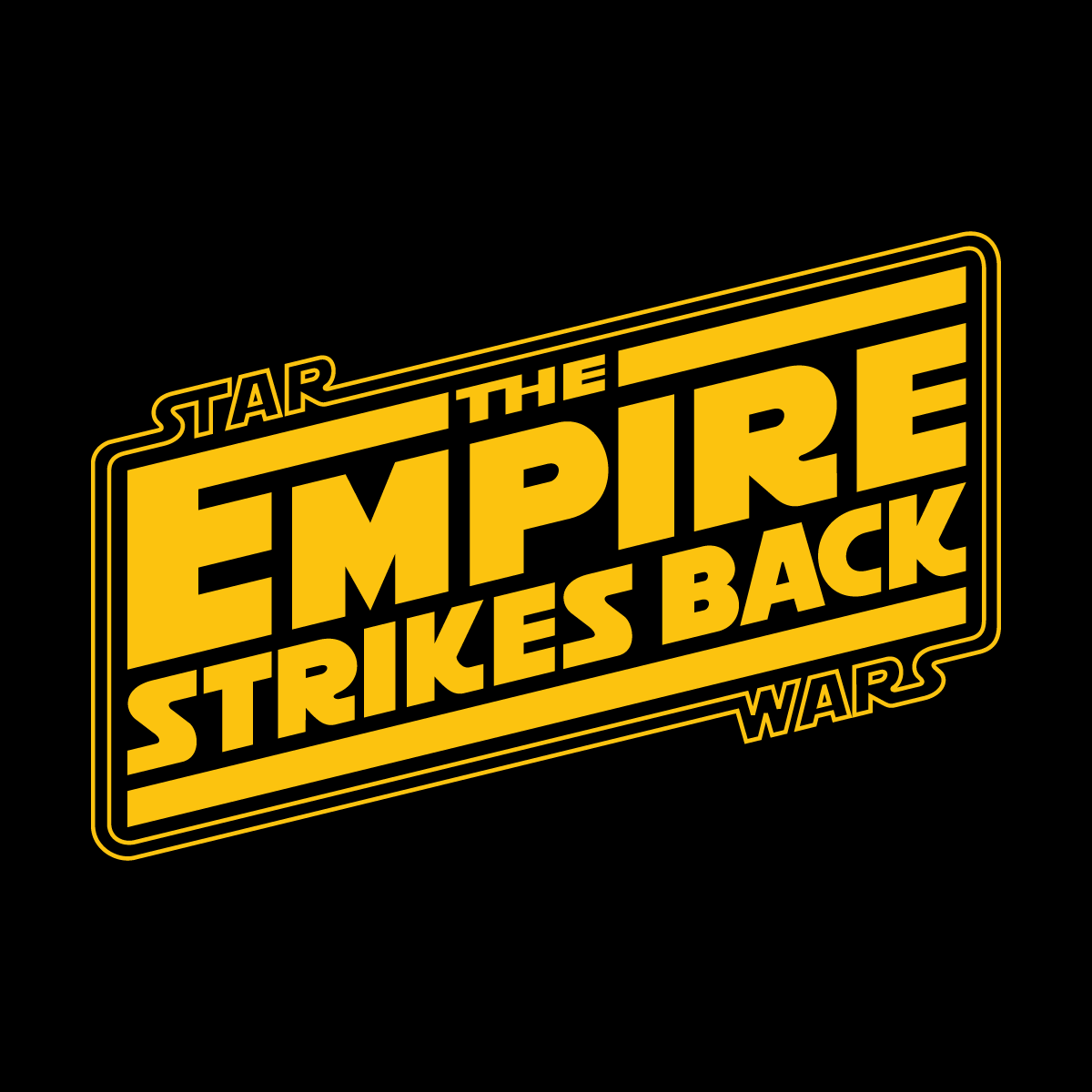 Star Wars The Empire Strikes Back Logo Vector | Free Vector ... #1041226 - PNG Images - PNGio