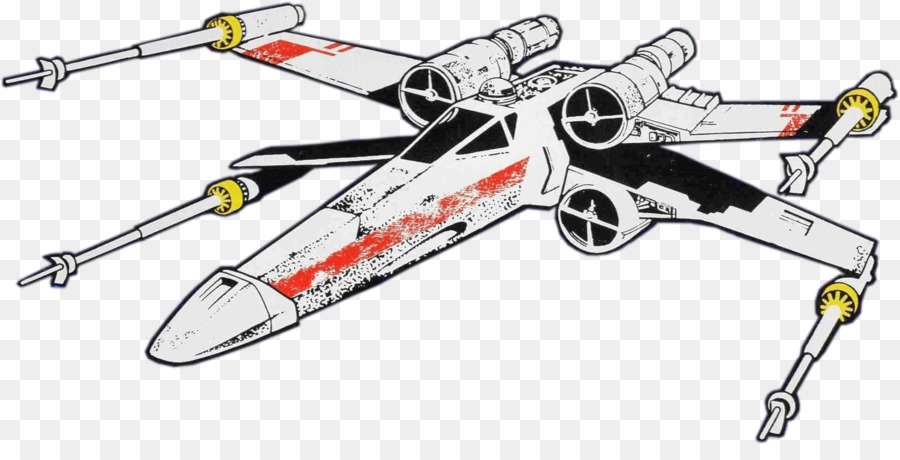 X Wing Clip Art - Star Warstransparent png image & clipart free download