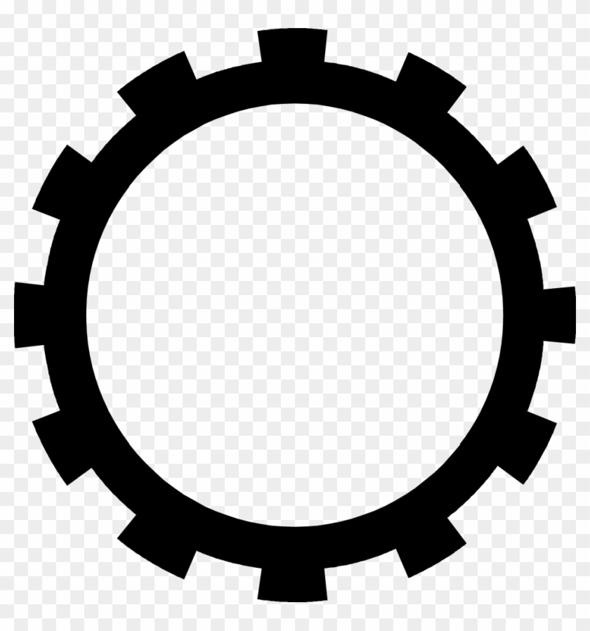 Gear Png Black And White - Steampunk Gear Clipart No Background - Gear Clipart - Free ...