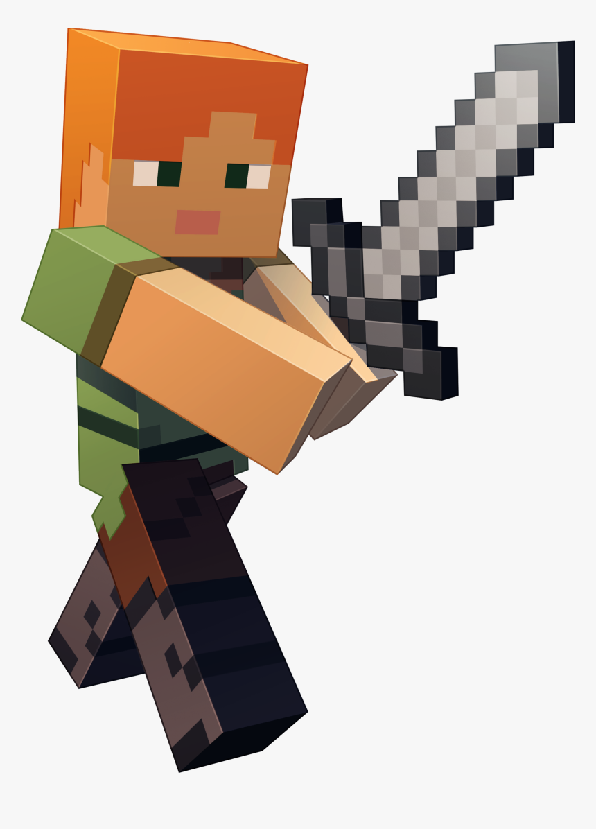 Steve Alex Minecraft Characters Hd Png 2153424 Png Images Pngio