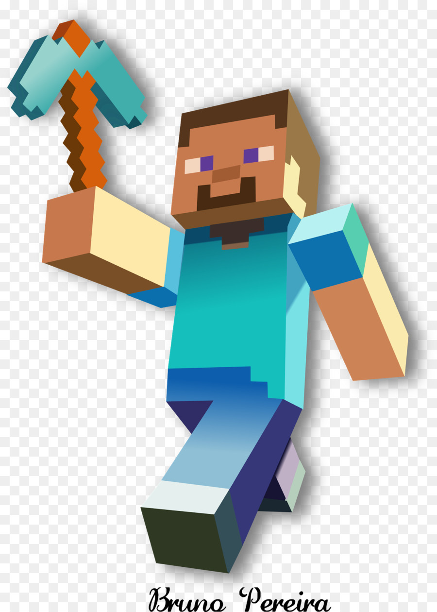 Steve Minecraft Png 96 Images In Colle 640835 Png Images Pngio