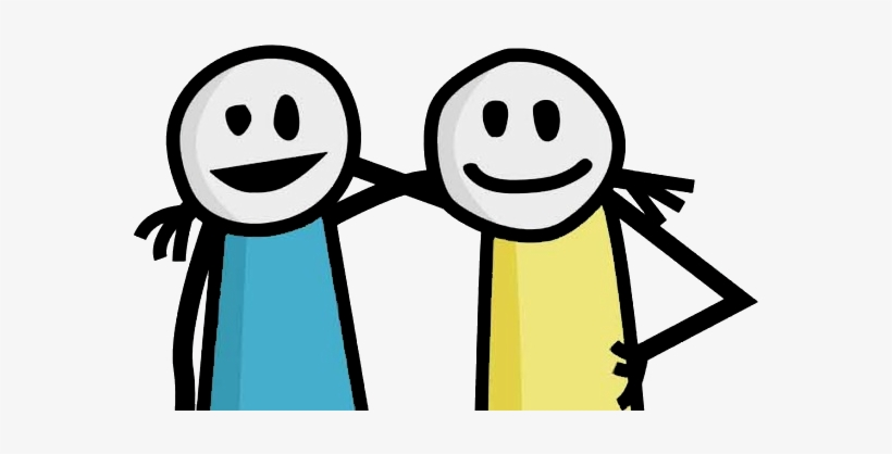 Friends Day Png - Stick Figure Friends Png Graphic Stock - Happy Friendship Day ...