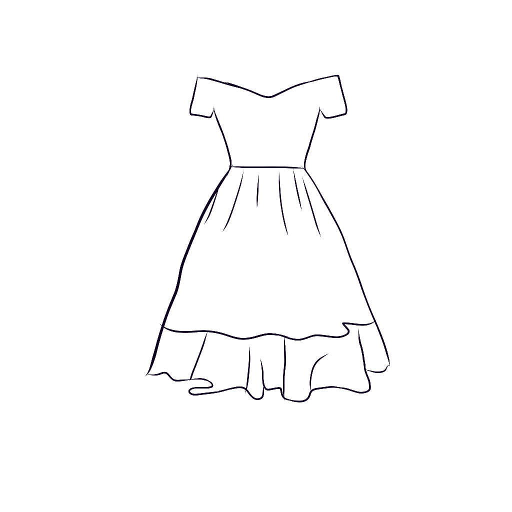 Dress Drawing Png Free Dress Drawing Png Transparent Images 72271 Pngio