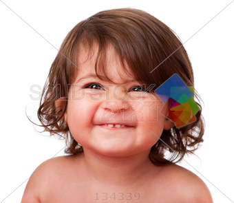 Silly Girl Face Png - Stock Photo of Little girl making a silly face with scrunched nose ...