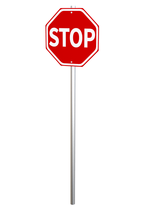 Png Of Stop Sign - Stop Sign on Pole transparent PNG - StickPNG