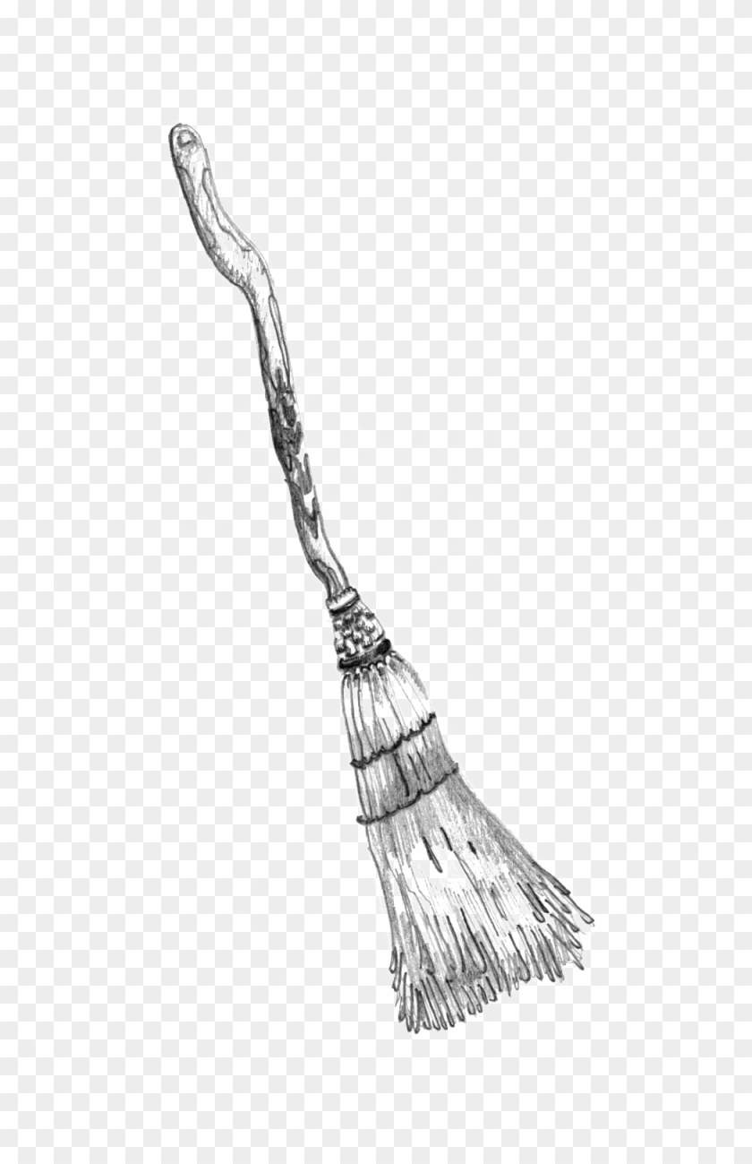 Broom Drawing Png - Straw Broom - Sketch, HD Png Download - 1000x1499(#285870) - PngFind