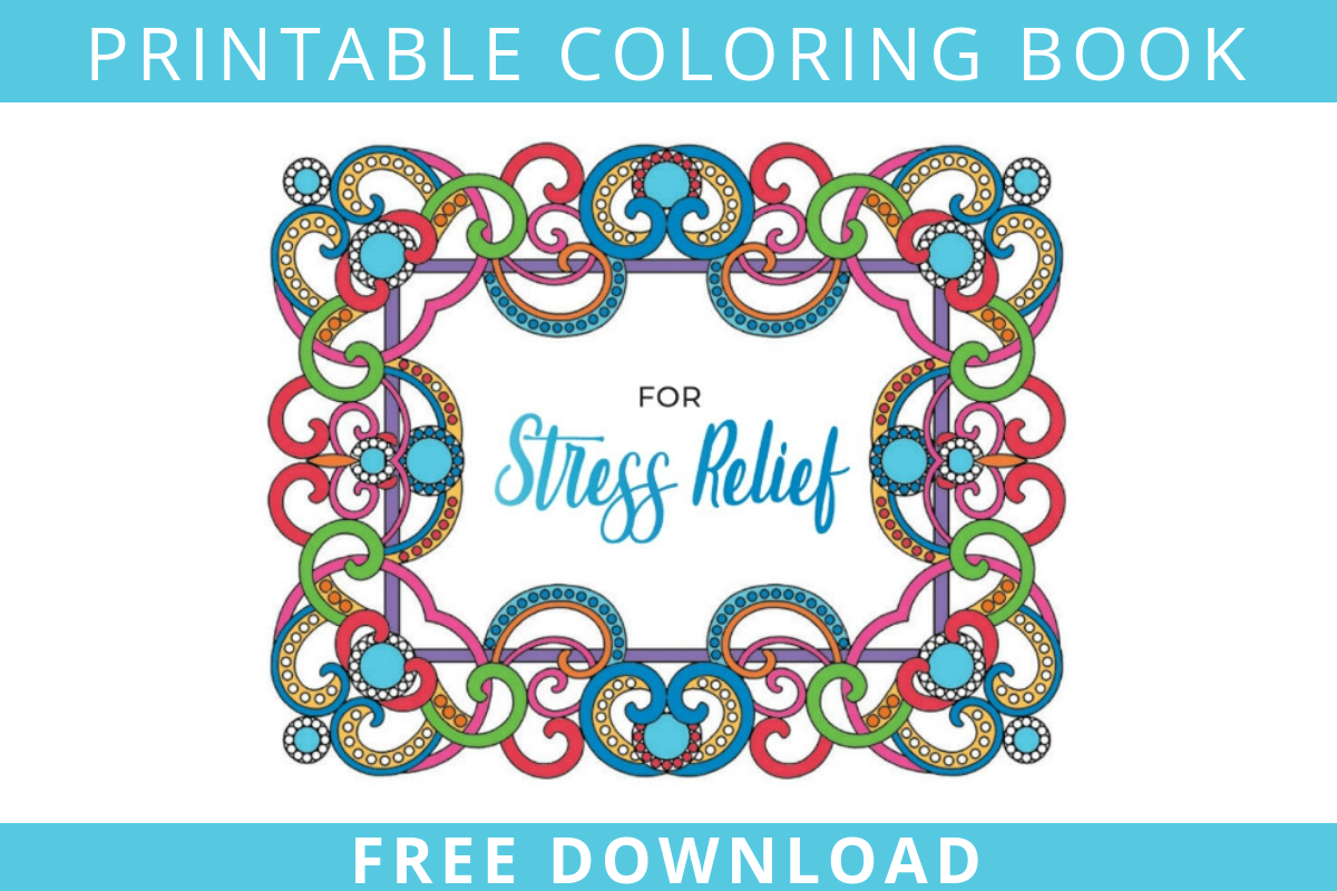 Free Printable Png Of Food In Colorbook Form - Stress Relief Coloring Book - Sycamore Springs
