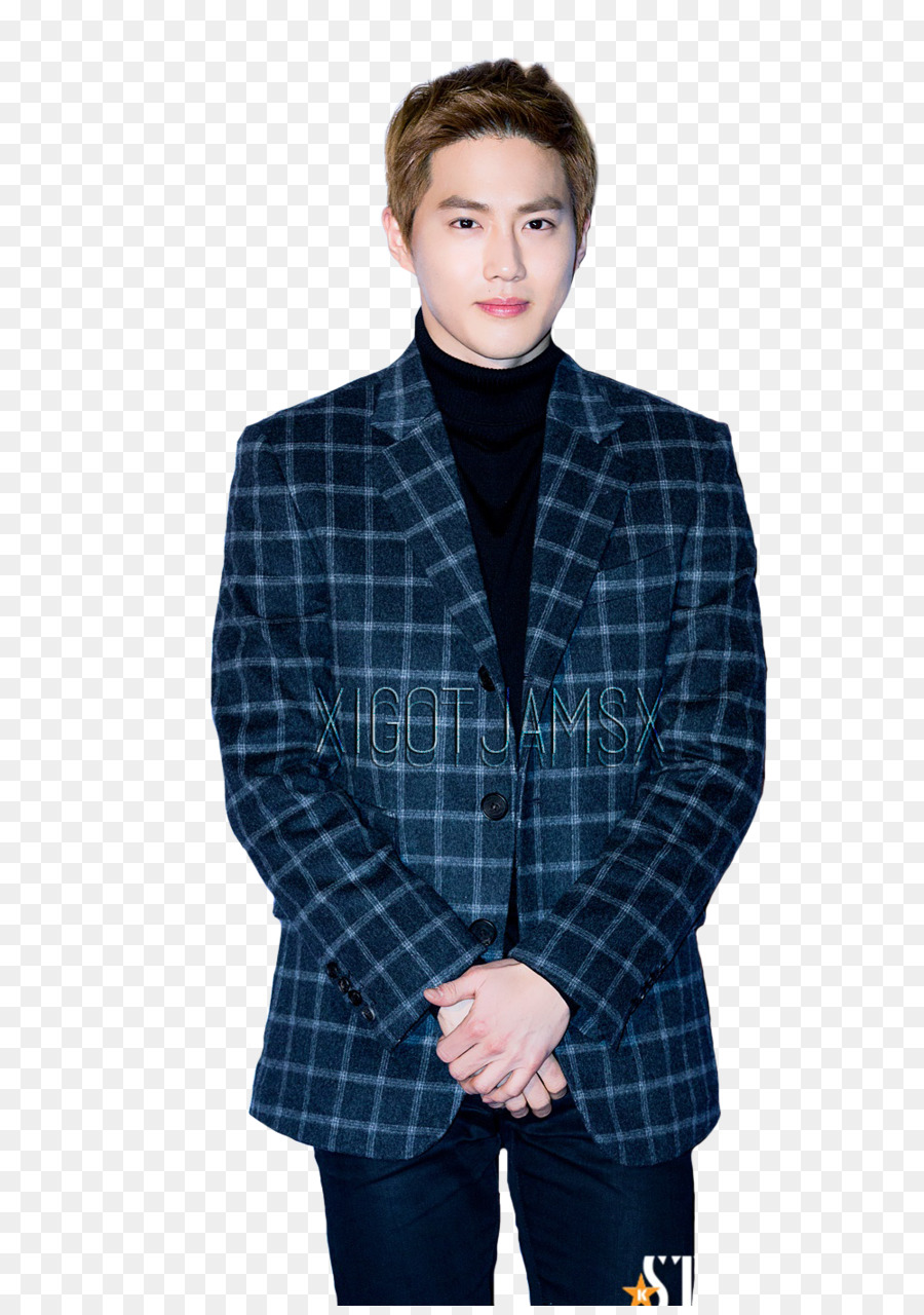 Suho Png - Suho Blazer png download - 1000*1412 - Free Transparent Suho png ...