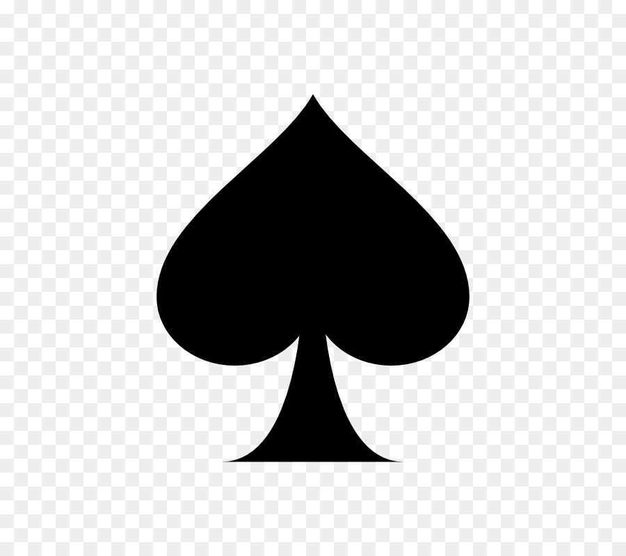 Playing Spades Png - Suit Playing card Ace of spades Espadas - ace card png download ...