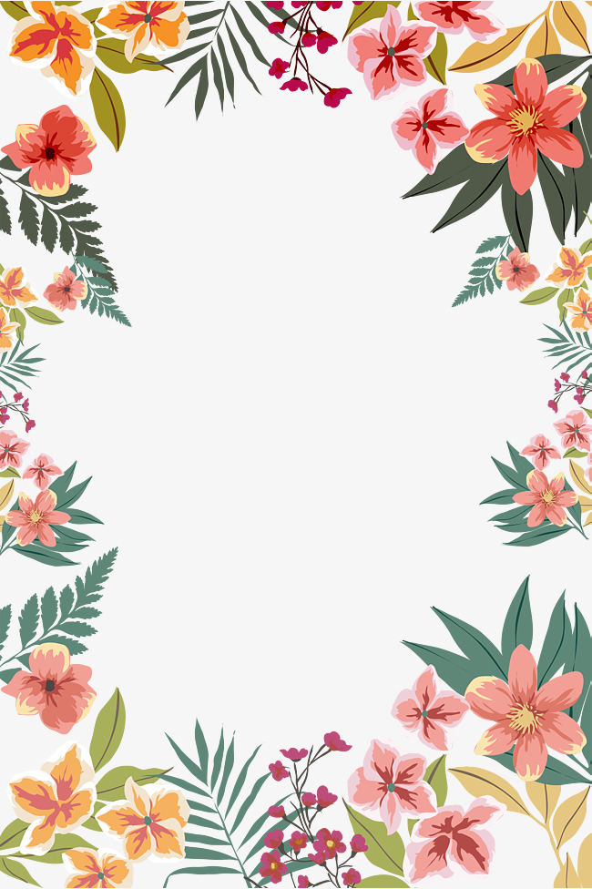 Flowers Borders Png Amp Free Flowers Borders Png Transparent