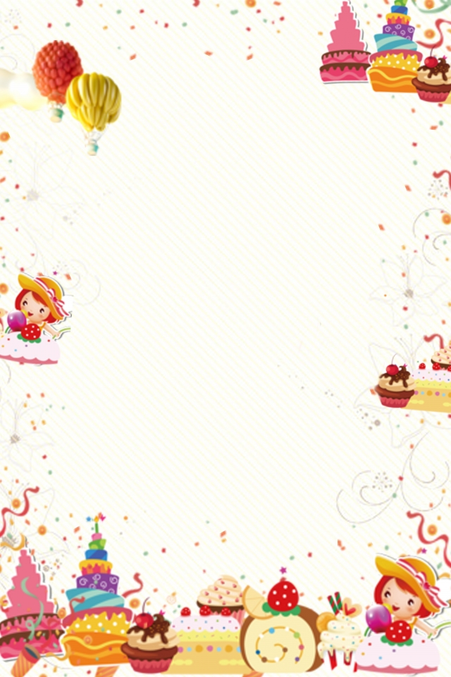 Summer Food Background Png - Summer Food Cake Fresh And Simple, Poster Background, Plane ...