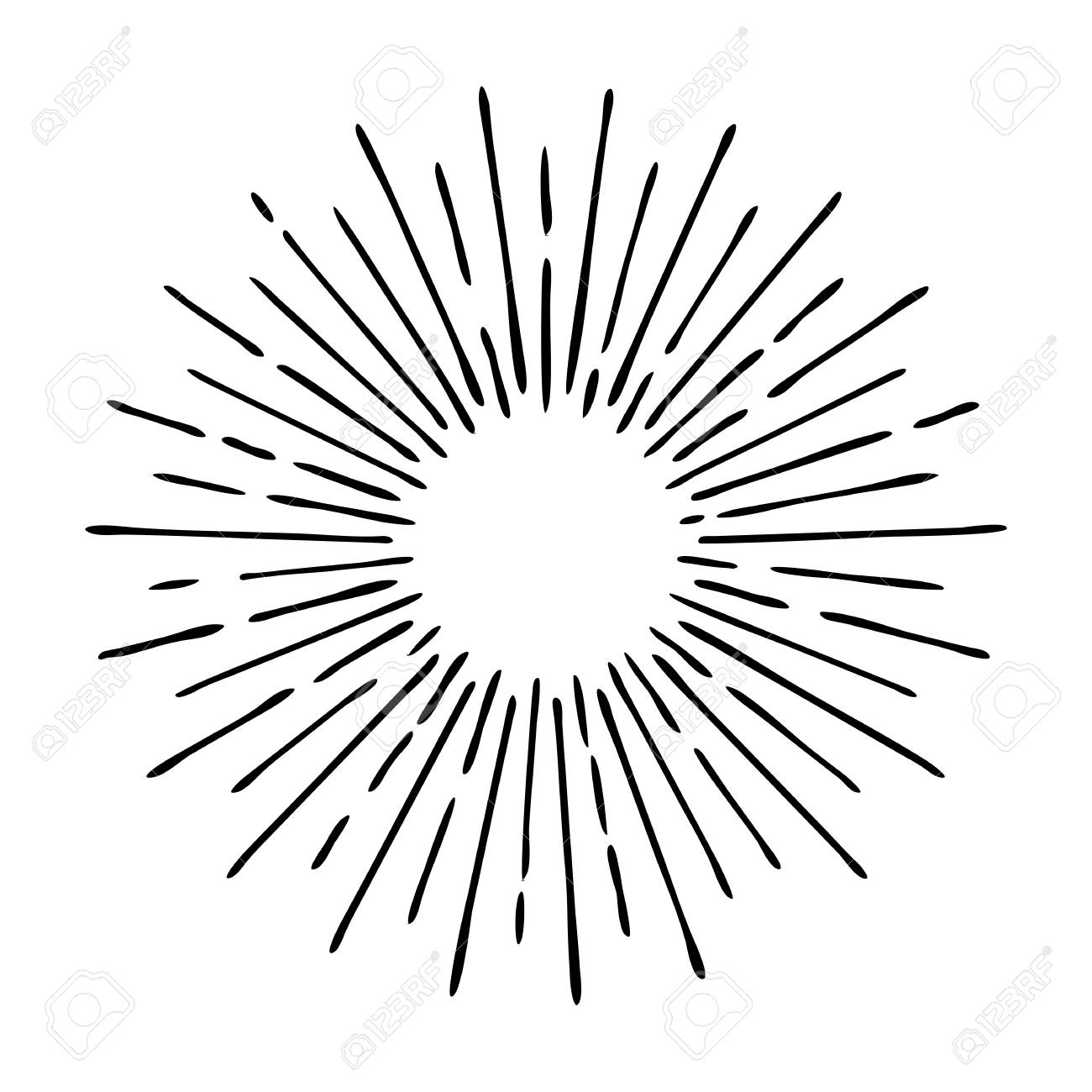 Library of apple with burst of sun rays graphic black and white stock black  and white png files ▻▻▻ Clipart Art 2019