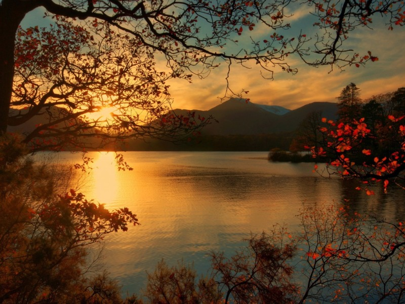 Autumn Sunsets Png Backgrounds - Sunset in autumn | 133 Wallpapers
