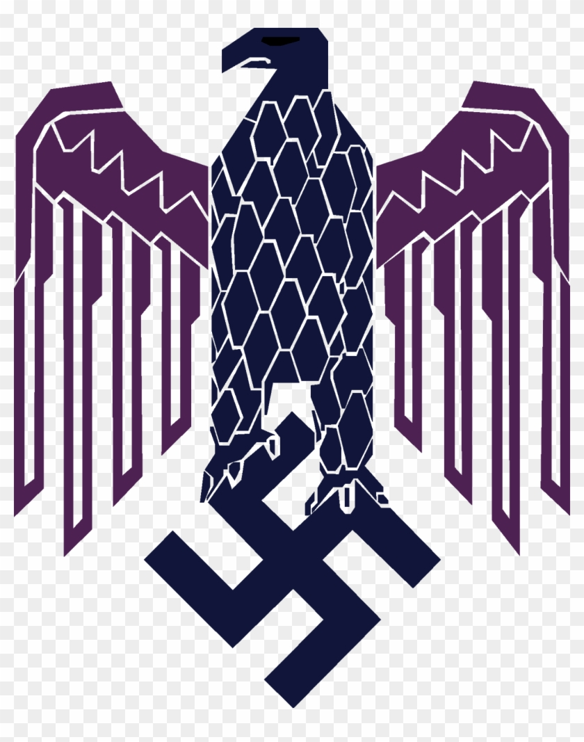 Swastika Eagle Png - Swastika Nazi - Nazi Eagle, HD Png Download - 1308x1600(#4425621 ...