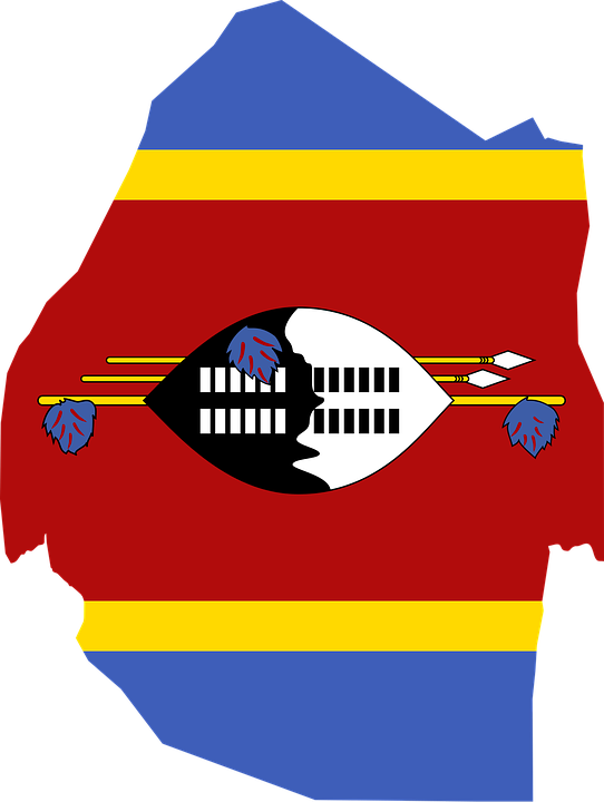 Swaziland Png - Swaziland Flag Map - Free vector graphic on Pixabay