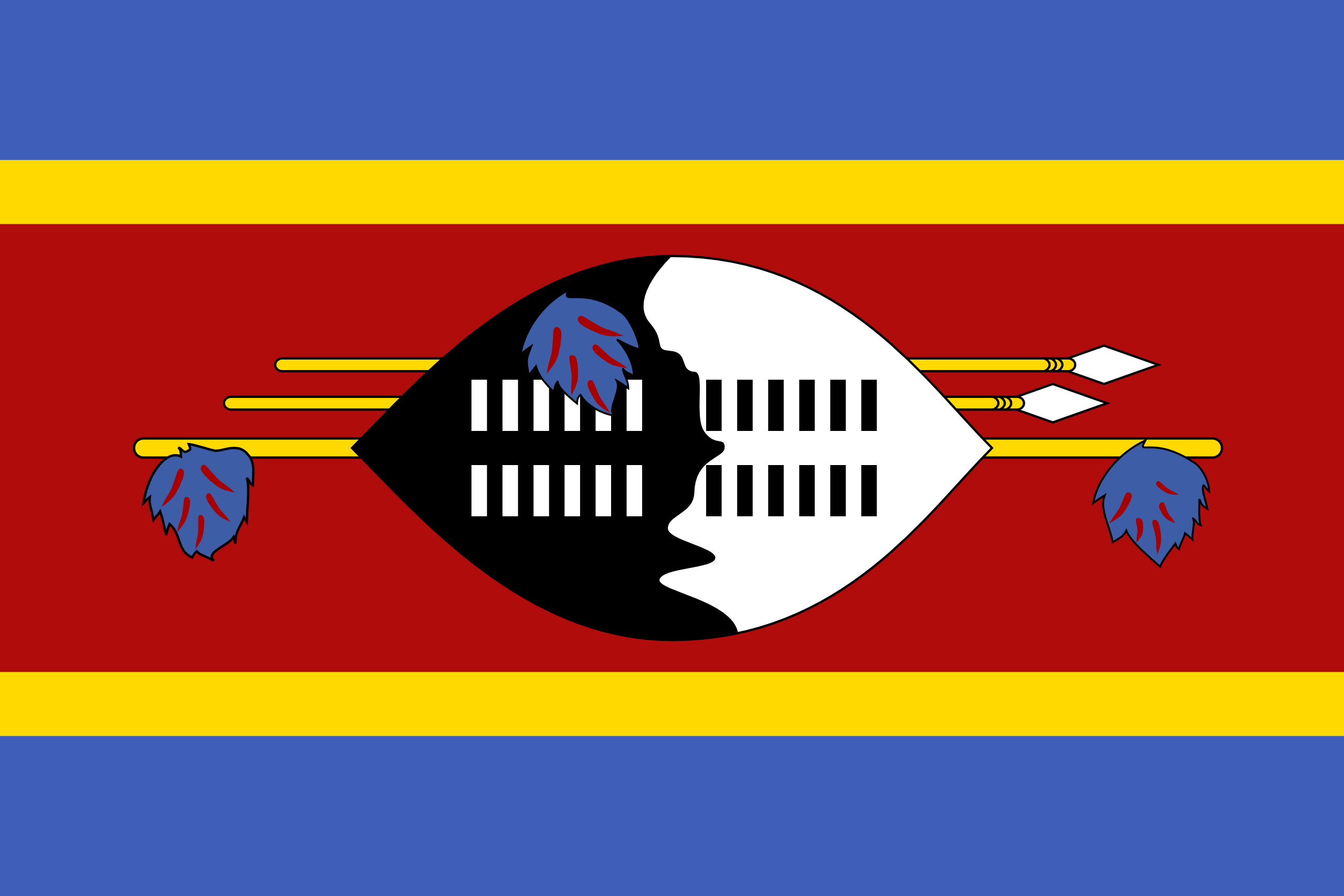 Swaziland Png - Swaziland   Flags of countries