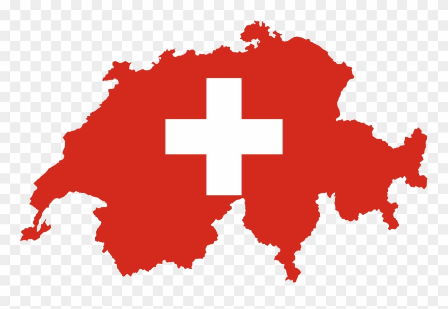 Switzerland Png - Switzerland Map Flag - Switzerland Flag Map Png Clipart (#262051 ...