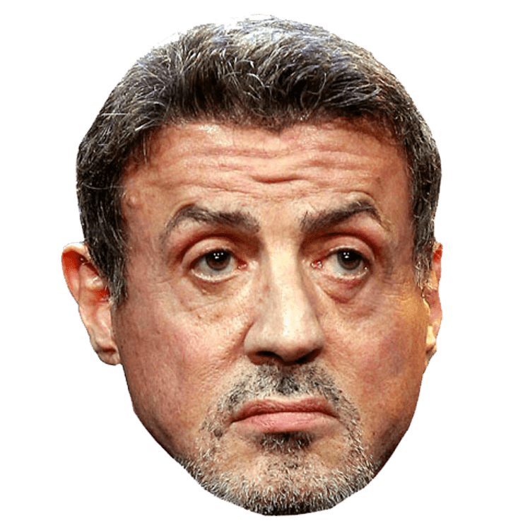 Sylvester Stallone Png - Sylvester Stallone Face transparent PNG - StickPNG
