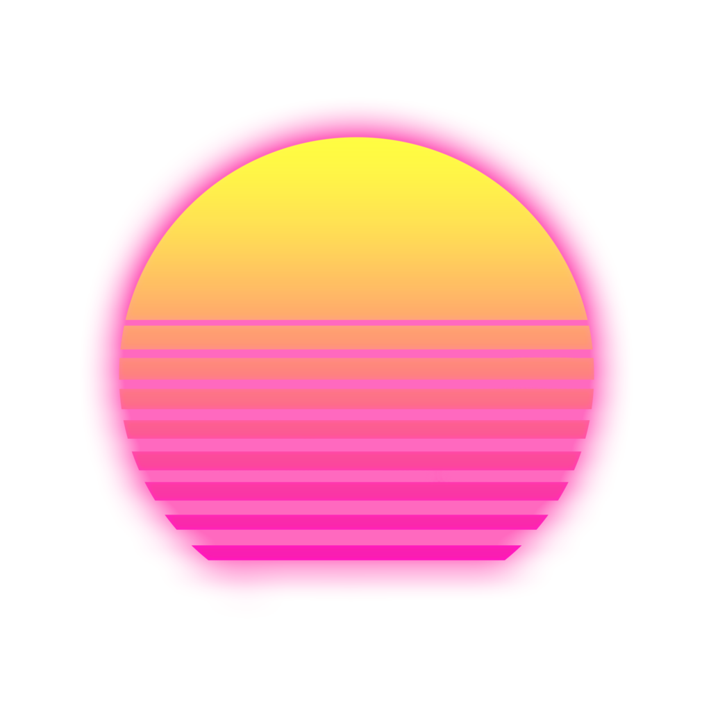 The Best Synthwave Grid Transparent Images