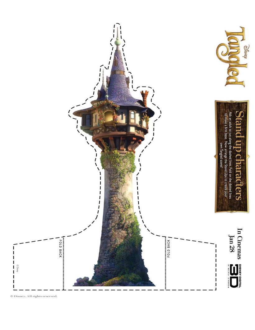 Tangled Castle Printable Game Tangled 1693199 Png Images Pngio