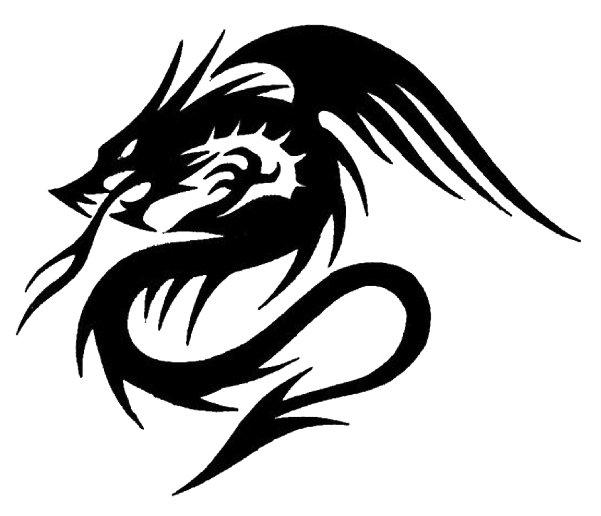 Black Dragon Png Hd - Tattoo dragon png #39031 - Free Icons and PNG Backgrounds