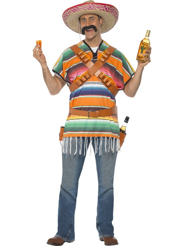 Mexican Man With Sombrero Png - Tequila shooter. Mexican