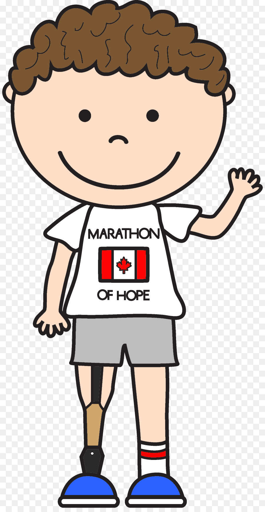 Terry Fox Png - Terry Fox Run Le Marathon de l'espoir Child Clip art - fennec fox ...