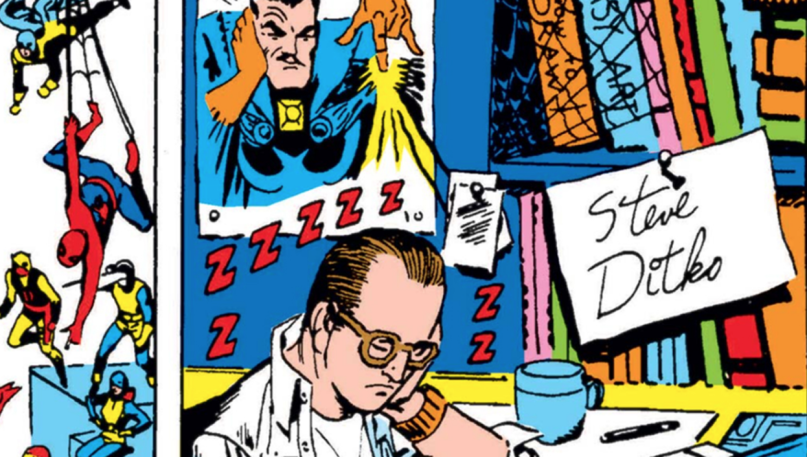 Steve Ditko Png - Thank You, Steve Ditko……. | Drums in the Global Village