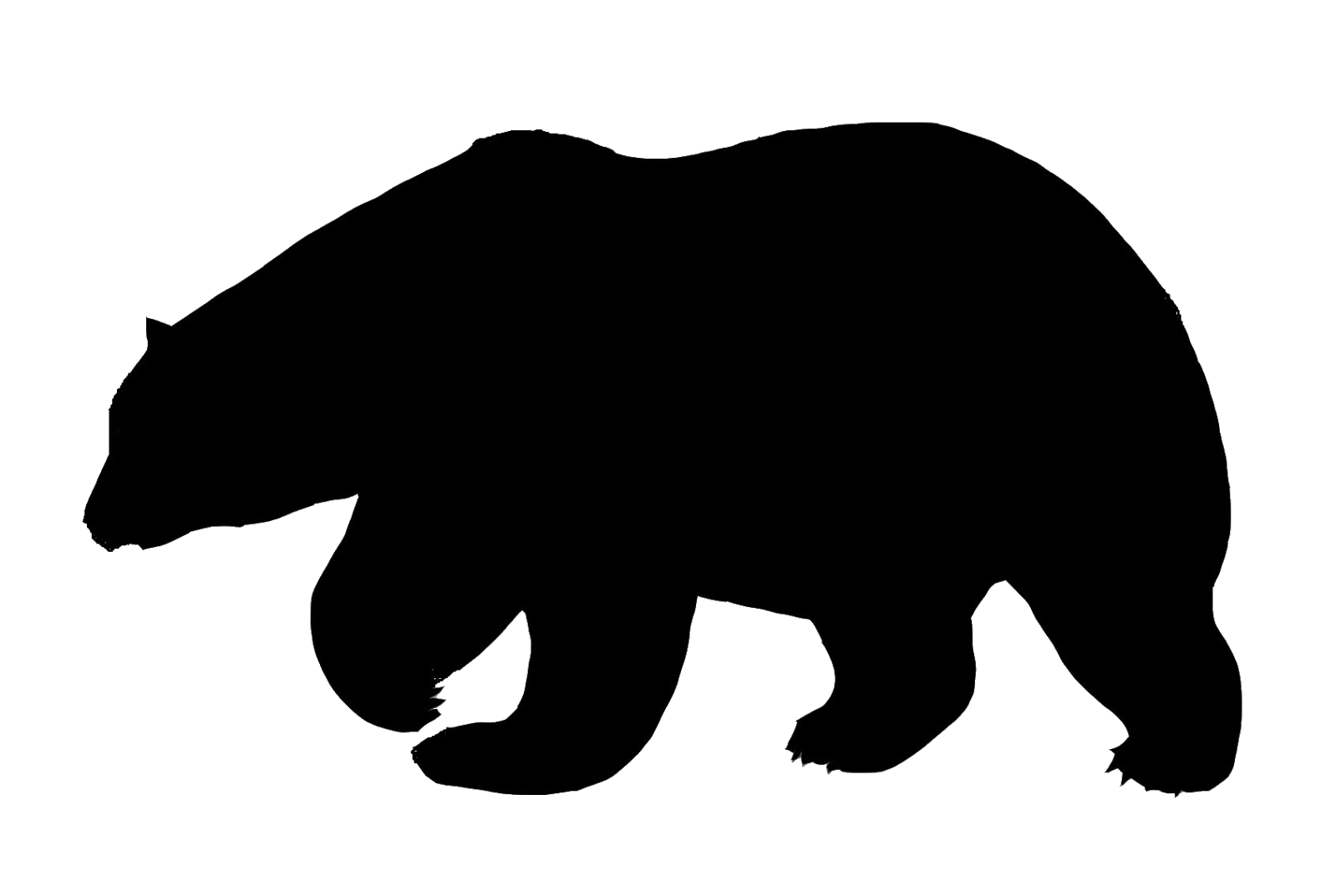 Free Bear Outline, Download Free Clip Art, Free Clip Art on Clipart Library