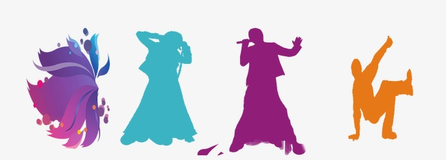 The Best Free Sing Silhouette Images. Do #1591527 - PNG Images - PNGio
