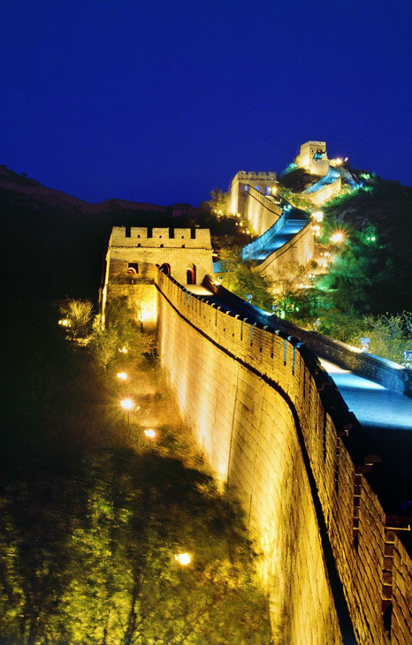 Great Wall Of China Beijing Png - The best time to visit the Badaling section of the Great Wall is ...