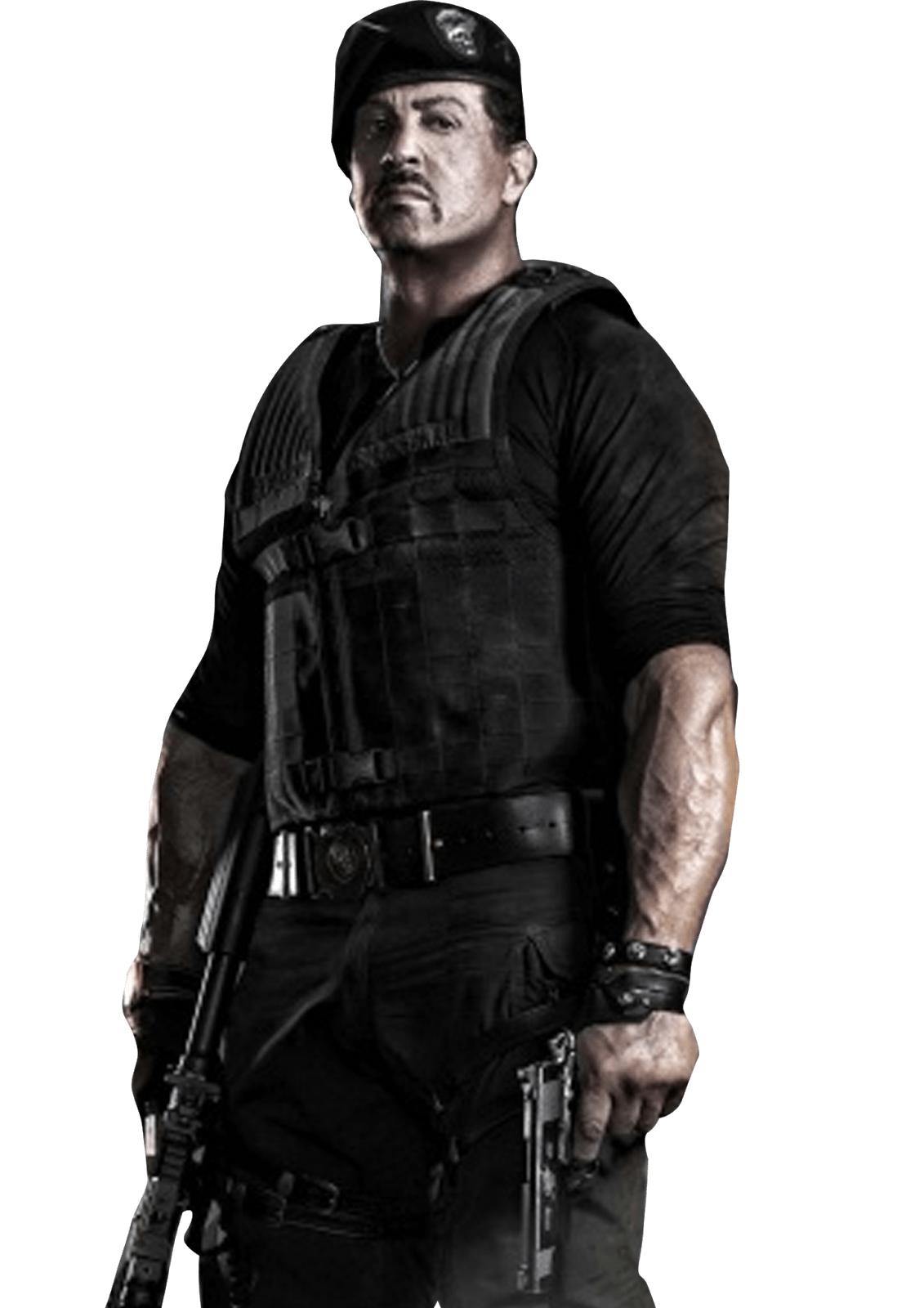 Sylvester Stallone Png - The Expendables Sylvester Stallone.PNG transparent PNG - StickPNG