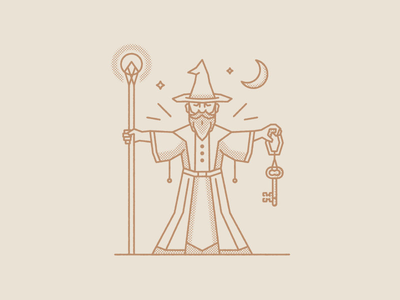 Friendly Wizard Png - The Friendly Wizard by Kyle Goodrich - Dribbble