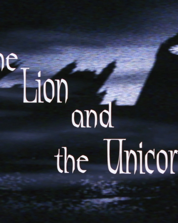"""The Lion And The Unicorn Png - The Lion and the Unicorn""""   DC Animated Universe   Fandom"""