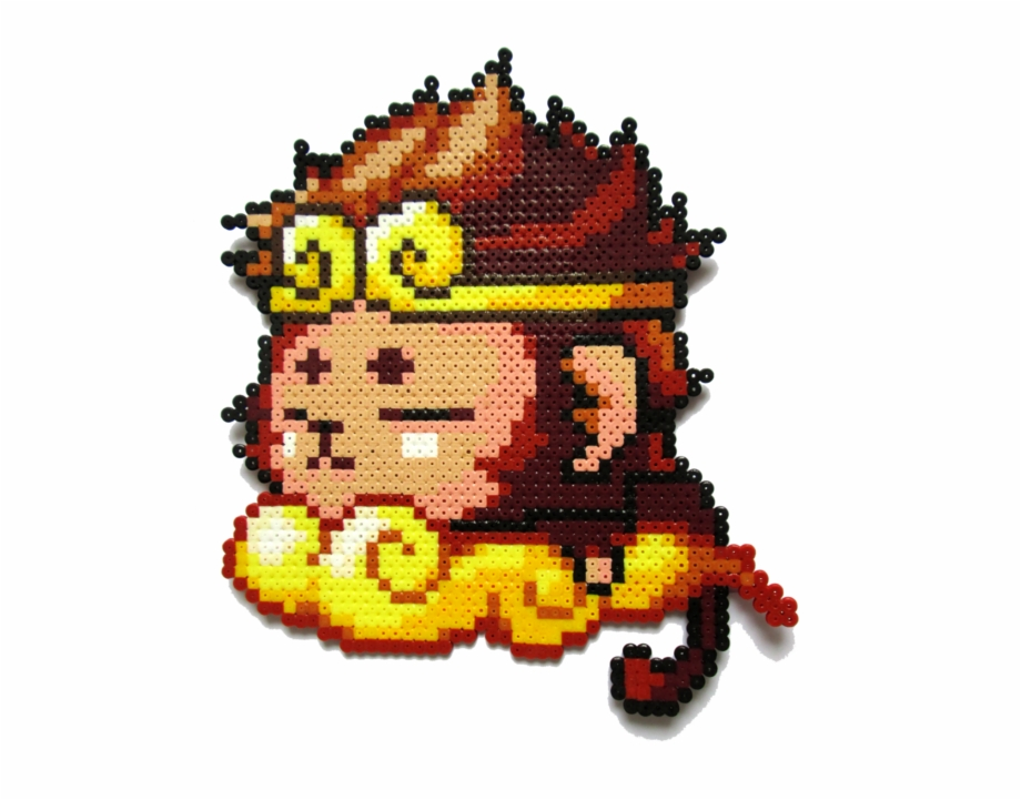 Monkey King Png - The Monkey King - Pixel Art Sun Wukong Free PNG Images & Clipart ...