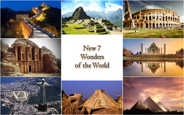 The-New-7-Wonders-Of-The-World #81406 - PNG Images - PNGio