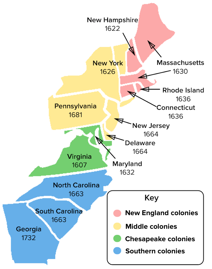 New England Colony Map Map Of New England And Colonies Png & Free Map Of New England And