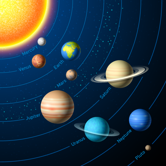 Solar System Png For Kids - The Solar System Explained