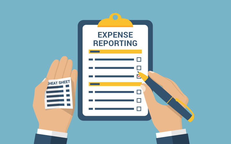 Expense Png - The Ultimate Expense Reporting Cheat Sheet: Expense Report Best ...